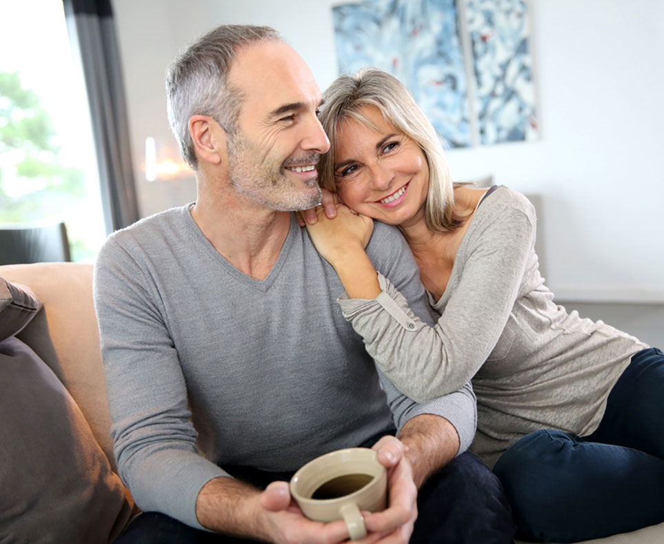 min mann sluttet Dating Sites